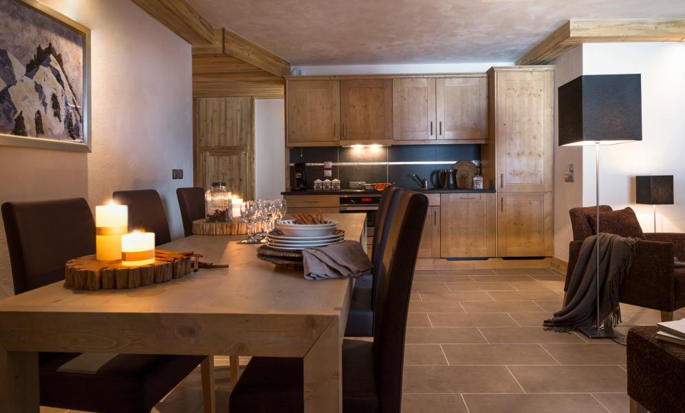Location au ski Residence Les Chalets D'angele - Châtel - Salle à manger