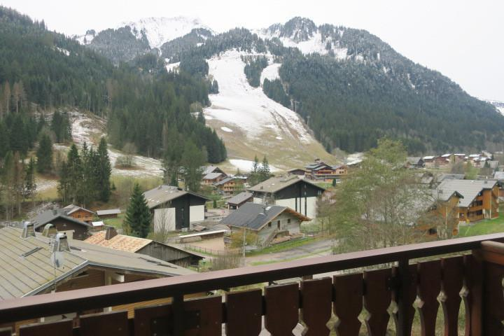 Location au ski Appartement 2 pièces 5 personnes (B24) - Résidence les Chalets de Perthuis - Châtel - Balcon