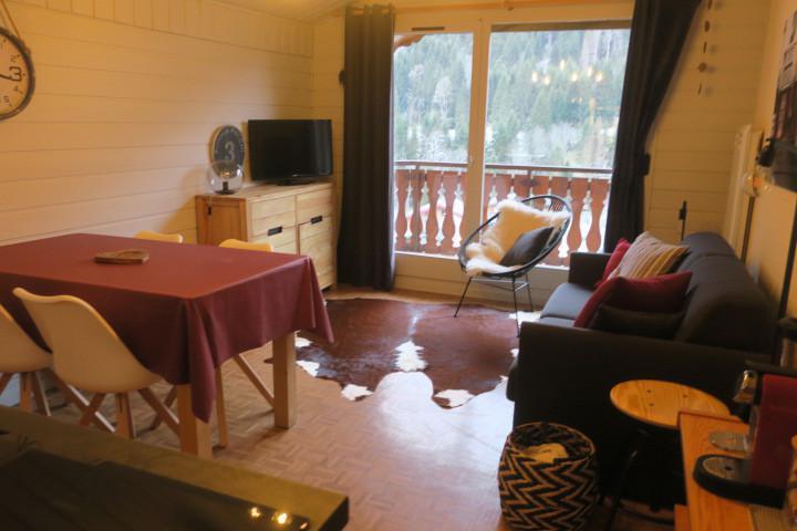 Location au ski Appartement 2 pièces 5 personnes (B24) - Résidence les Chalets de Perthuis - Châtel - Banquette