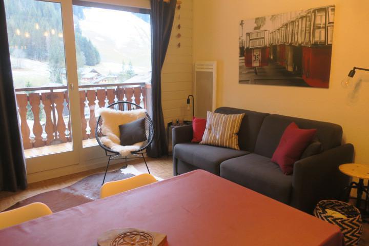 Location au ski Appartement 2 pièces 5 personnes (B24) - Résidence les Chalets de Perthuis - Châtel - Séjour