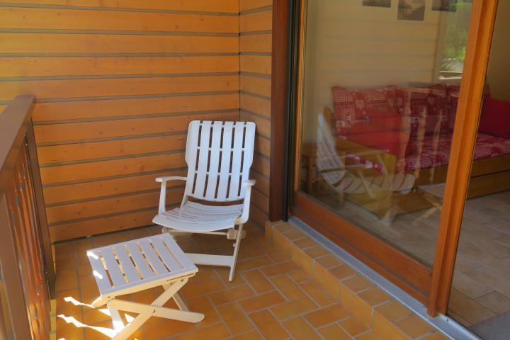 Location au ski Appartement 2 pièces 6 personnes (A18) - Résidence les Chalets de Perthuis - Châtel - Balcon