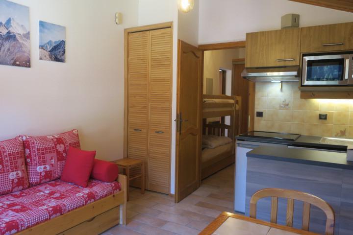 Location au ski Appartement 2 pièces 6 personnes (A18) - Résidence les Chalets de Perthuis - Châtel - Canapé-lit