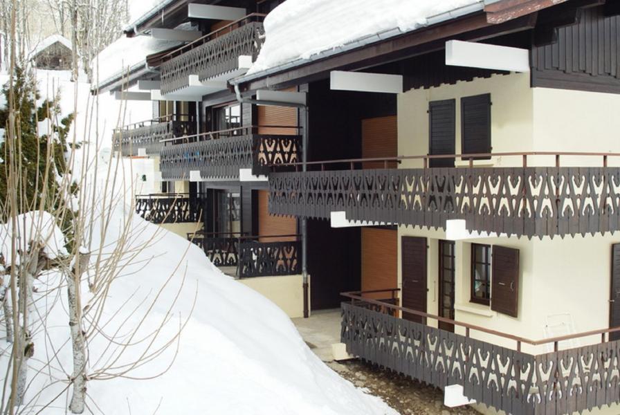 Rent in ski resort Studio sleeping corner 3 people (D) - Résidence les Covillets - Châtel