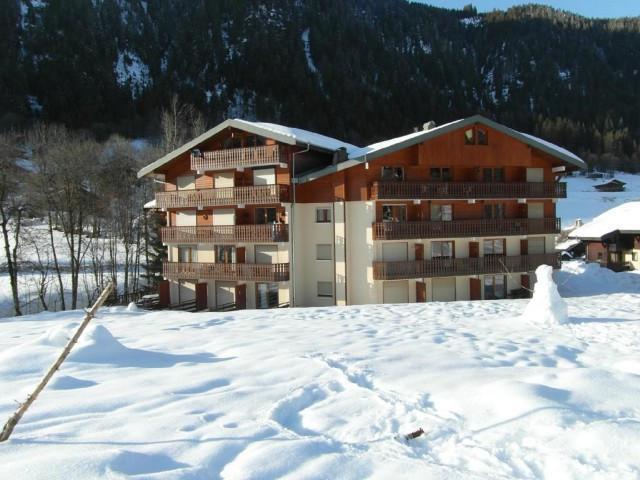Vacaciones en montaña Apartamento cabina 3 piezas para 5 personas (IRI005) - Résidence les Iris - Châtel - Invierno