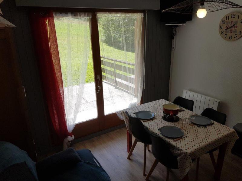 Location au ski Appartement 2 pièces 5 personnes (IRI006) - Résidence les Iris - Châtel - Table