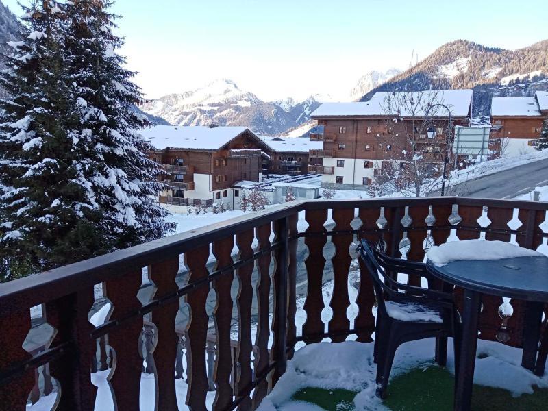Location au ski Logement 2 pièces 5 personnes (JQB9) - Résidence les Jonquilles - Châtel - Extérieur hiver
