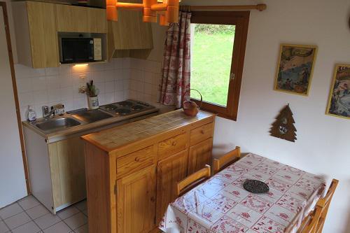 Location au ski Appartement 2 pièces 4 personnes (B22) - Résidence les Jonquilles - Châtel - Table