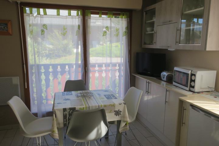 Location au ski Appartement 2 pièces cabine 4 personnes (M7) - Résidence les Jonquilles - Châtel - Séjour
