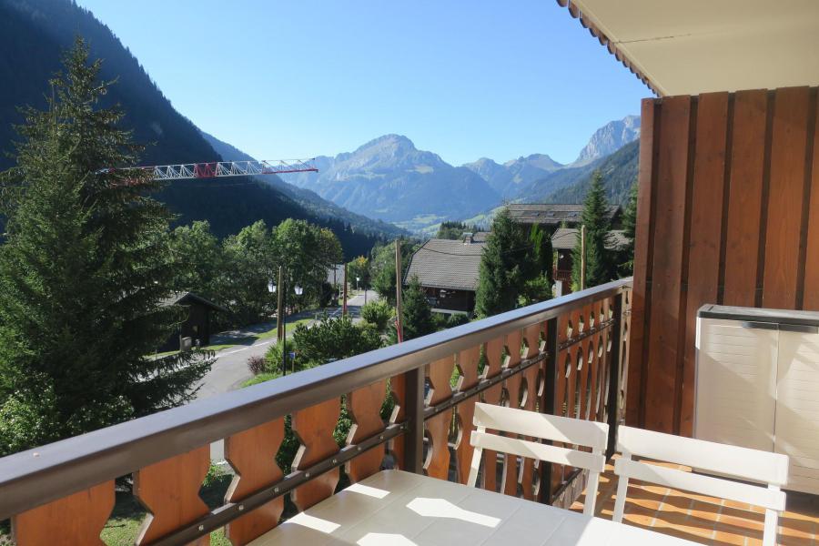 Location au ski Studio coin montagne 4 personnes (C11) - Résidence les Jonquilles - Châtel - Banquette-lit