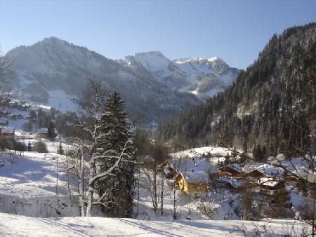 Vacaciones en montaña Apartamento cabina 3 piezas para 6 personas (MAR001) - Résidence les Marguerites - Châtel - Invierno