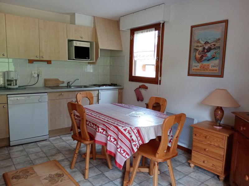 Location au ski Appartement 2 pièces cabine 6 personnes (9) - Résidence les Myrtilles - Châtel - Cuisine
