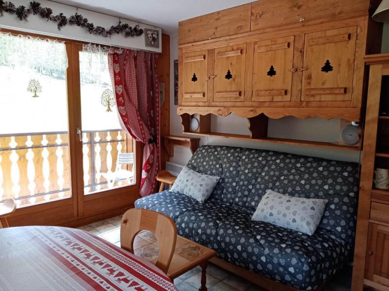 Location au ski Appartement 2 pièces cabine 6 personnes (9) - Résidence les Myrtilles - Châtel - Séjour
