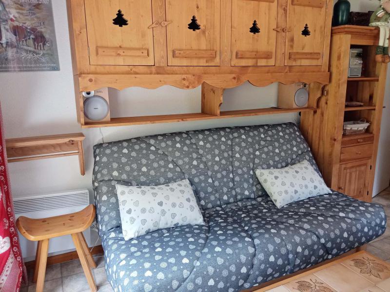 Location au ski Appartement 2 pièces cabine 6 personnes (9) - Résidence les Myrtilles - Châtel - Table