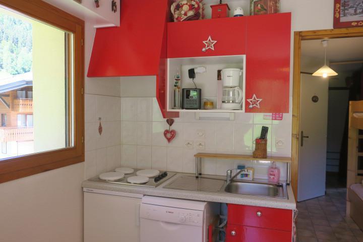 Location au ski Appartement 2 pièces coin montagne 4 personnes (8) - Résidence les Myrtilles - Châtel - Cuisine
