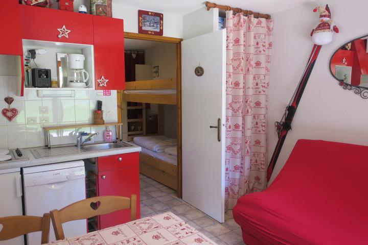 Location au ski Appartement 2 pièces coin montagne 4 personnes (8) - Résidence les Myrtilles - Châtel - Séjour