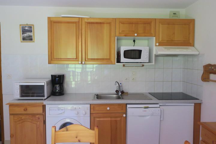 Location au ski Appartement 3 pièces 5 personnes (18) - Résidence les Myrtilles - Châtel - Kitchenette