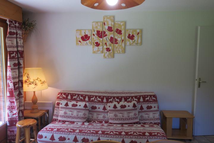 Location au ski Appartement 3 pièces 6 personnes (17) - Résidence les Myrtilles - Châtel - Séjour