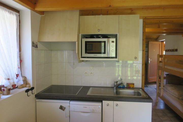 Location au ski Appartement 3 pièces 6 personnes (24) - Résidence les Myrtilles - Châtel - Cuisine