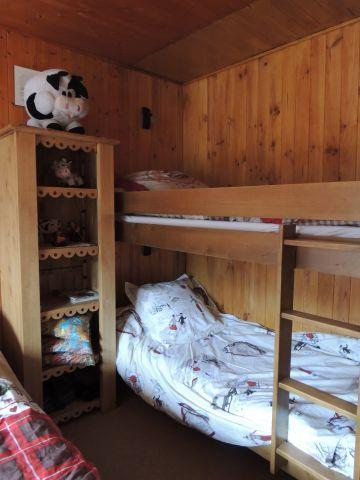 Rent in ski resort 2 room apartment 5 people (2829) - Résidence les Snailles - Châtel - Bunk beds