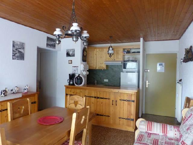 Ski verhuur Appartement 2 kamers 5 personen (2829) - Résidence les Snailles - Châtel - Keukenblok
