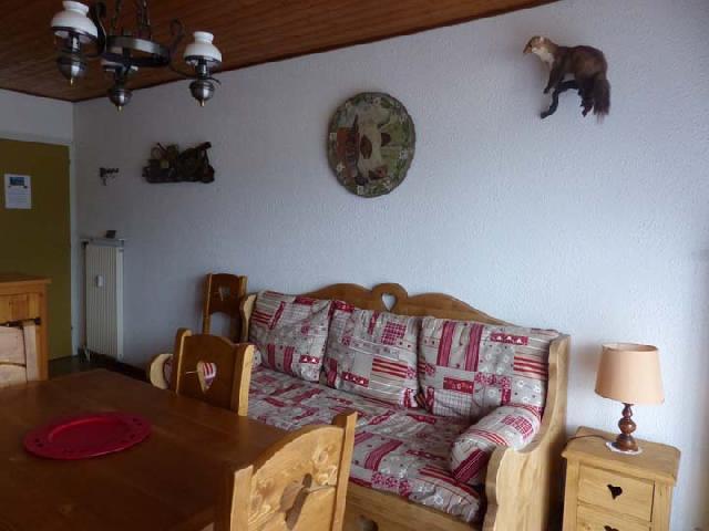 Ski verhuur Appartement 2 kamers 5 personen (2829) - Résidence les Snailles - Châtel - Pull-out sofa