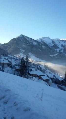 Vacaciones en montaña Apartamento cabina 2 piezas para 5 personas (004) - Résidence les Sorbiers - Châtel - Invierno