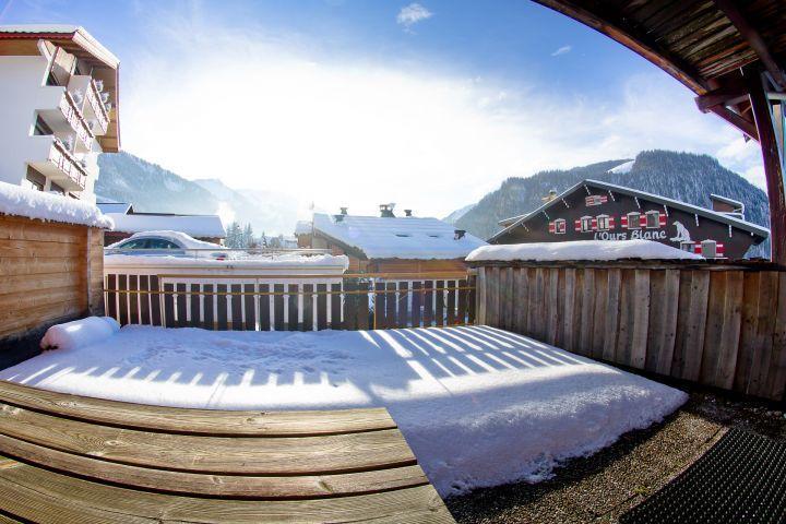 Vacaciones en montaña Apartamento 3 piezas para 7 personas (CAN004) - Résidence Lou Candres - Châtel - Invierno