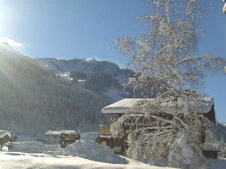 Vacaciones en montaña Apartamento cabina 2 piezas para 4 personas (PNG004B) - Résidence Perce Neige - Châtel - Invierno