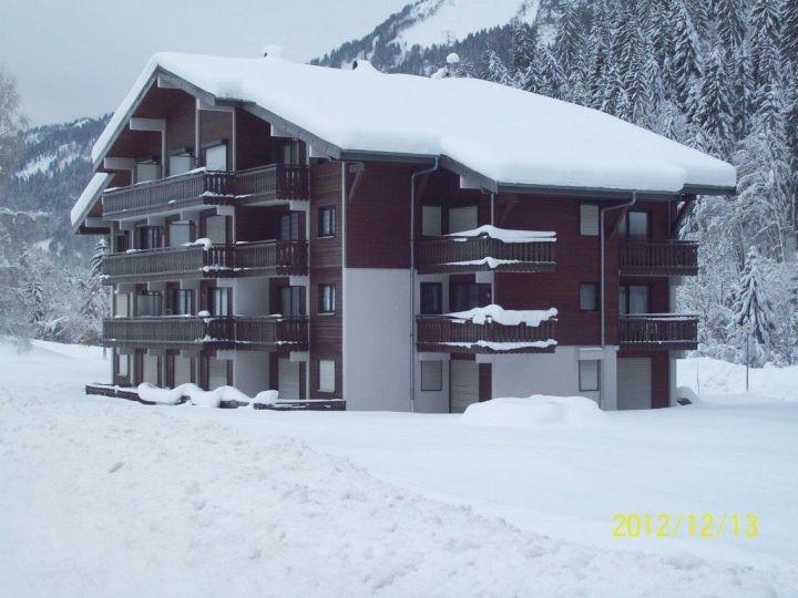 Vacaciones en montaña Apartamento cabina 2 piezas para 4 personas (PNG009D) - Résidence Perce Neige - Châtel - Invierno