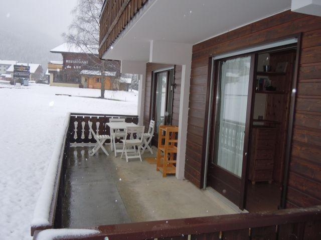 Location au ski Appartement 2 pièces coin montagne 4 personnes (PNG004B) - Résidence Perce Neige - Châtel - Terrasse