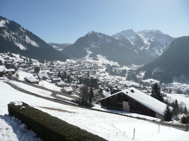 Location au ski Studio coin montagne 3 personnes (PER009) - Résidence Perchoir - Châtel - Extérieur hiver