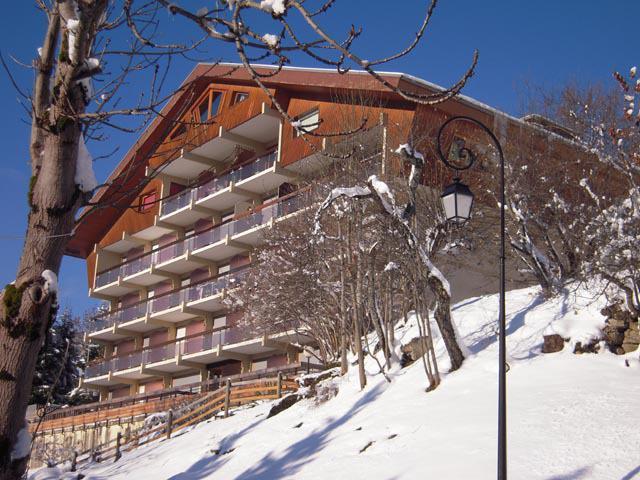 Location au ski Résidence Solarium - Châtel - Extérieur hiver