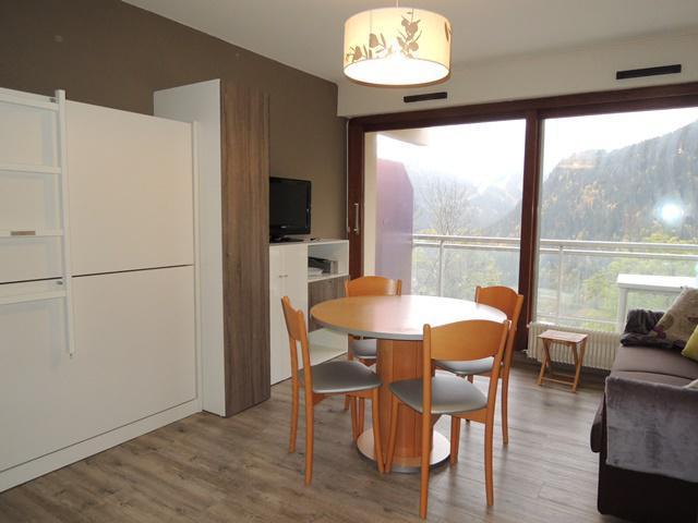 Location au ski Studio cabine 4 personnes (8) - Résidence Solarium - Châtel - Séjour
