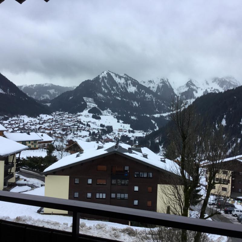 Location au ski Appartement duplex 3 pièces 6 personnes (YT4065) - Résidence Yéti - Châtel - Extérieur hiver