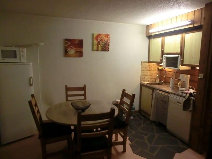 Location au ski Appartement 2 pièces 5 personnes (YT1069) - Résidence Yéti - Châtel - Coin repas