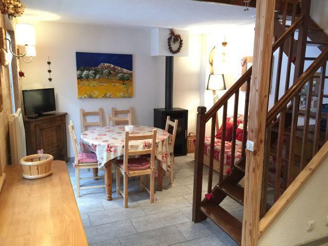 Location au ski Appartement duplex 3 pièces 6 personnes (YT4068) - Résidence Yéti - Châtel - Coin repas