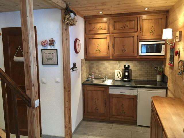 Location au ski Appartement duplex 3 pièces 6 personnes (YT4068) - Résidence Yéti - Châtel - Kitchenette