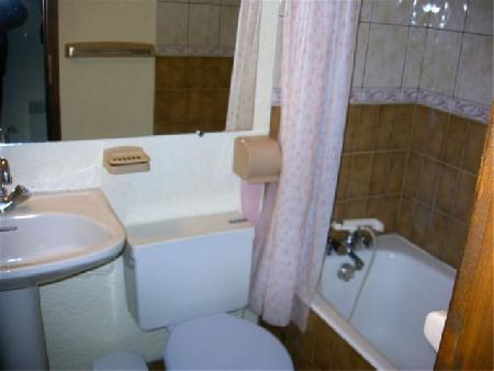 Location au ski Studio 2 personnes (YT5029) - Résidence Yéti - Châtel - Salle de bains