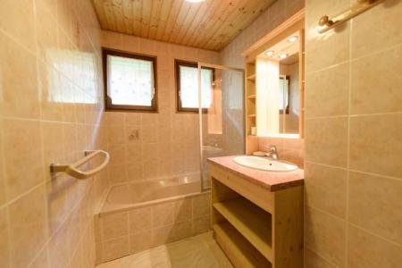 Rent in ski resort 3 room apartment 7 people (2) - Chalet Beau Regard - Châtel - Bath-tub