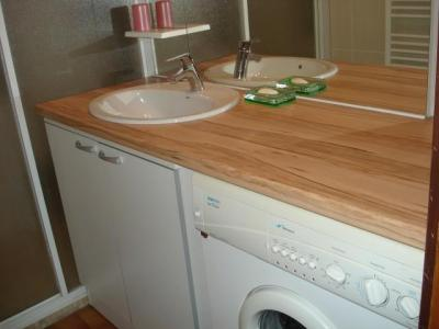 Rent in ski resort 3 room apartment 6 people - Chalet Bel Horizon - Châtel - Wash-hand basin