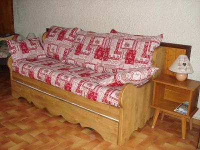 Rent in ski resort Studio 2 people - Chalet Bel Horizon - Châtel - Bed-settee