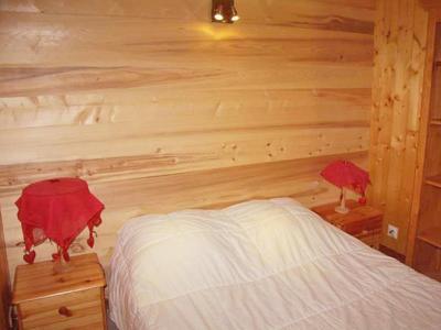 Аренда на лыжном курорте Chalet Châtel CBN01 - Châtel - Двухспальная кровать