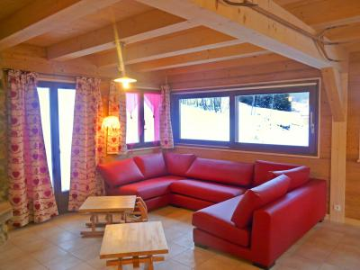Location au ski Chalet Châtel CPN01 - Châtel - Canapé