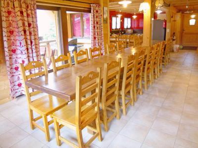Location au ski Chalet Châtel CPN01 - Châtel - Coin repas
