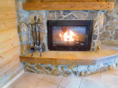 Rent in ski resort Chalet Châtel CPN01 - Châtel - Fireplace