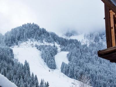 Rent in ski resort Chalet du Linga - Châtel - Winter outside