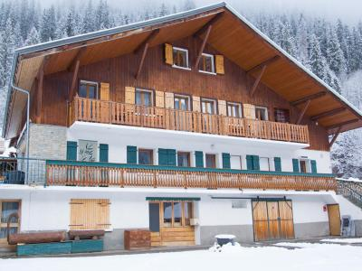 Rent in ski resort Chalet du Linga - Châtel - Winter outside