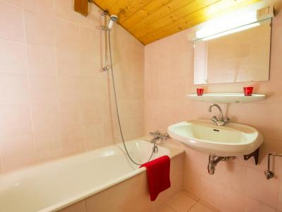 Rent in ski resort Chalet du Linga - Châtel - Bath-tub