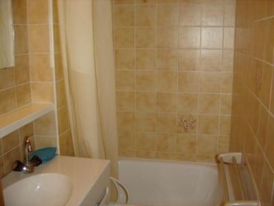 Rent in ski resort 2 room apartment sleeping corner 5 people (8A) - Chalet du Perthuis - Châtel - Bath-tub