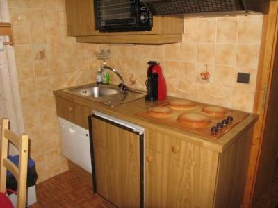 Rent in ski resort 2 room apartment sleeping corner 5 people (8A) - Chalet du Perthuis - Châtel - Kitchenette